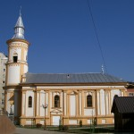 "The ""Blessed Virgin"" Church in Bacău"