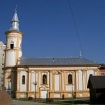 Biserica catolica Sf. Nicolae - pe locul fostei biserici Sf. Fecioara