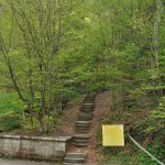"Route ""300 stairs"" in Slanic Moldova Resort"
