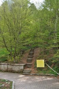 Traseul 300 de scari Slanic Moldova
